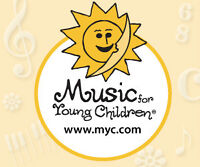 Music for Young Children classes for beginners age 3-9