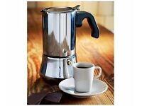 Small espresso maker plus 2 free espresso cups