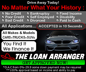 100% Car Loans Approved Regardless Of Your Credit History