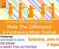 Note the Difference – A Fundraising Music Festival For All Ages