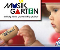 Baby and Toddler Musikgarten Classes