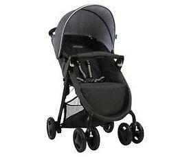 VGC Graco Black & Grey Mirage Pushchair Buggy Stroller