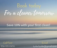 Cleaning Available! Save 10%