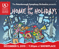 Peterborough Symphony Orchestra presents Home for the Holidays
