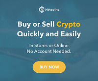 Buy/Sell Cryptocurrency with Netcoins -  Publicly Traded Company