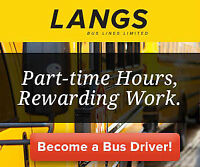 Become a School Bus Driver Today! Limited Positions Available!
