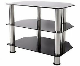 Black Glass TV Stand/Unit