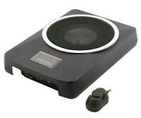 New! Ultra Slim - POWERED Subwoofer INSTALLED!! WIRING INCLUDED!