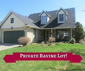 *RAVINE LOT* + Walkout Basement With Apartment! Home for SALE!