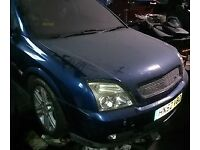 Vauxhall Vectra 1.8 Bonnet In Blue Breaking For Parts (2003)