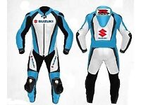 Suzuki gsxr Motorbike Leather Racing Suit! Made To Measure Suits 1 or 2 pcs