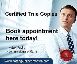 Certified True Copies Strathcona County Edmonton Area image 2