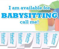Babysitter available this weekend