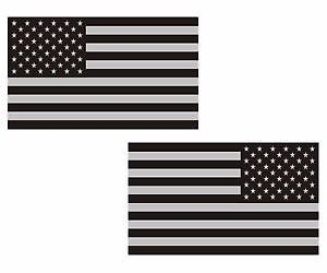 """2 - 5"""" American Subdued Flag Decal SET USA Tactical Military Vinyl Sticker RL LH"""