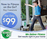 In-Home Personal Training - 3 sessions for only $99