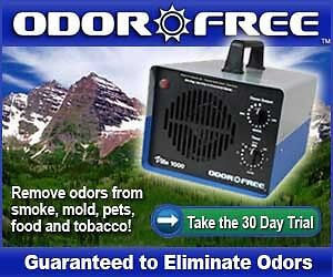 NO MORE STINK ! OZONE ODOR REMOVAL. 5 HOUR TREATMENT