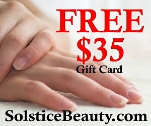 Free $35 Solstice Beauty Gift Card Giveaway