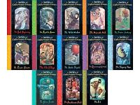 LEMONY SNICKET A SERIES OF UNFORTUNATE EVENTS COMPLETE 13 BOOKS COLLECTION SET