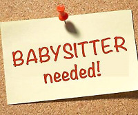 Wanted - Babysitter from Royalwood, Island Lakes, Southdale,