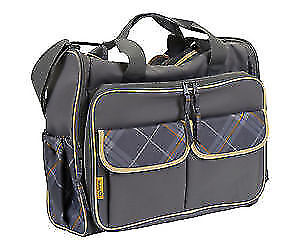 The Safety 1st diaper bags.With many storage compartments