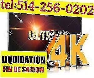 MARDI LIQUIDATION TV SMART LED SAMSUNG LG HAIER HISENSE 4K UHD