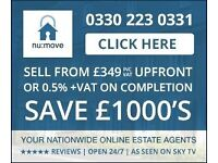 EPC £30/ FLOOR PLAN £40- SELL YOUR PROPERTY AND PAY JUST 0.5%