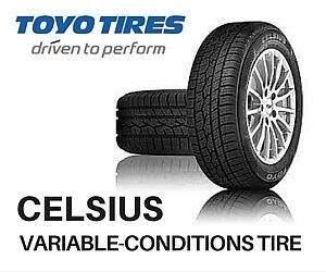NEW TOYO CELSIUS AND CELSIUS CUV ALL-WEATHER TIRES Oakville / Halton Region Toronto (GTA) image 1