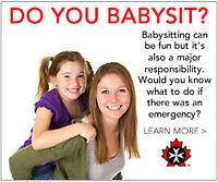 BABYSITTING BASICS with ST. JOHN AMBULANCE, KAWARTHA