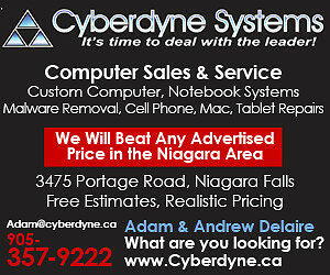 Cyberdyne has over 25 years of service Flat Rate Service, Repair