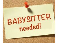 Experienced Babysitter Wanted in Westhill