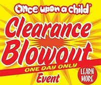 CLEARANCE SALE JUNE 6 - Once Upon A Child Abbotsford