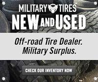 Surplus Military Off Road, Swampers, OTR, Mud Tire Dealer