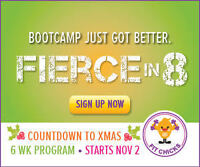 """Special """"Countdown to Xmas"""" 6 week Bootcamp!"""