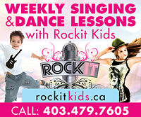 Singing and Dance lessons for Kids 4-12yrs