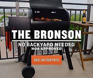 Traeger's new Bronson 20 Smoker Grills-Much Lower Price!