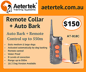 Aetertek 918C 1 Dog Remote Training Collar Auto Bark Collar