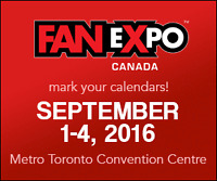 Hotel room for Fan Expo 2016