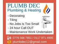 Gas and plumbing