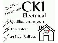 Electrician/Fully Qualified with Low rates 24 hour call out