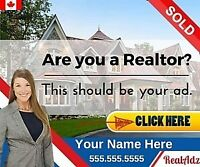 Realtor ADS that work! - SEE OUR ADS WORK LIVE!