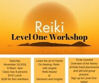 REIKI- Learn the art of Hands On Healing