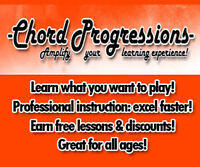 Accepting Guitar & Drum Students www.chordprogressionssarnia.com