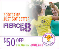 July FIT CHICKS Outdoor Bootcamp - Save $80 Off!