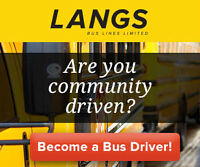 Become a School Bus Driver Today!