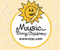 Music Classes for Young Children Summer Class