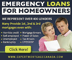 Emergency Loans and Mortgages In St Catharines