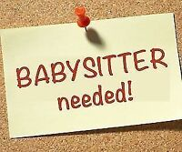 URGENT BABYSITTER WANTED FOR OCT 22ND- OCT 23RD