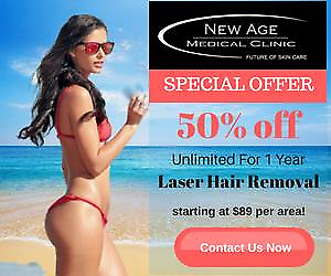 Special offer Laser Hair Removal Services