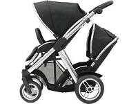 Oyster Max Double Pram Tandem Pushchair