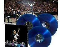 "David Bowie "" Reality tour"" -triple transparent blue vinyl box set"" - still sealed"